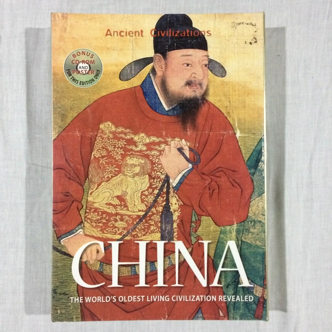 CHINA: THE WORLD'S OLDEST LIVING CIVILIZATION REVEALED HARDCOVER FOR ONLY PHP 599!