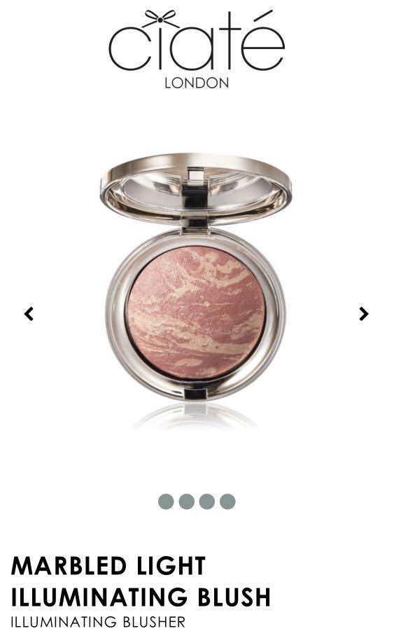 Ciaté London: Marbled Light Illuminating Blush in Dusk
