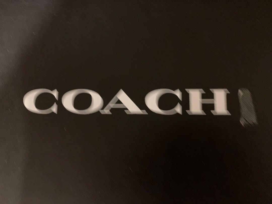 Coach shoes size 7D Midnight Navy colour BRAND NEW authentic and genuine