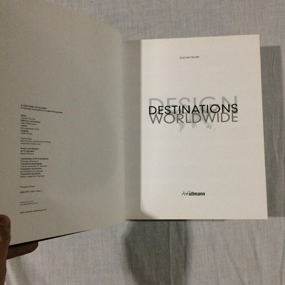 Design Destinations Worldwide (Hardcover) FOR ONLY PHP 1000!