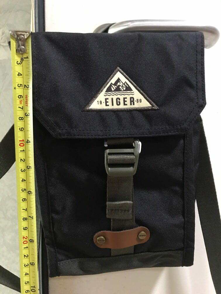 Eiger Sling Travel Bag Pouch Men S Fashion Bags Wallets Others On Carousell