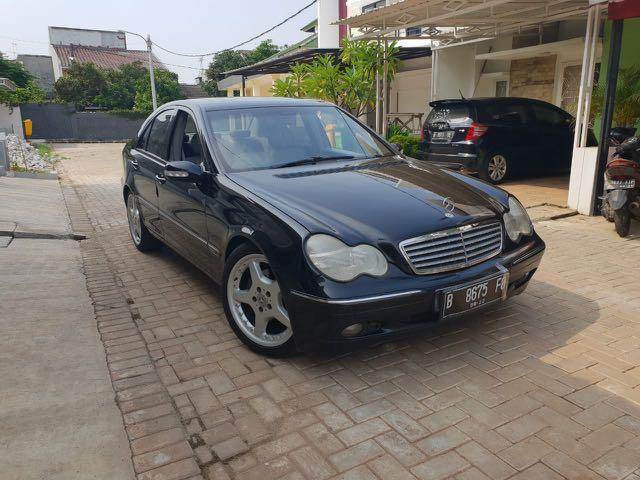 For Sale Marcedez Benz C240 W203 Automatic Th 2002 Hitam
