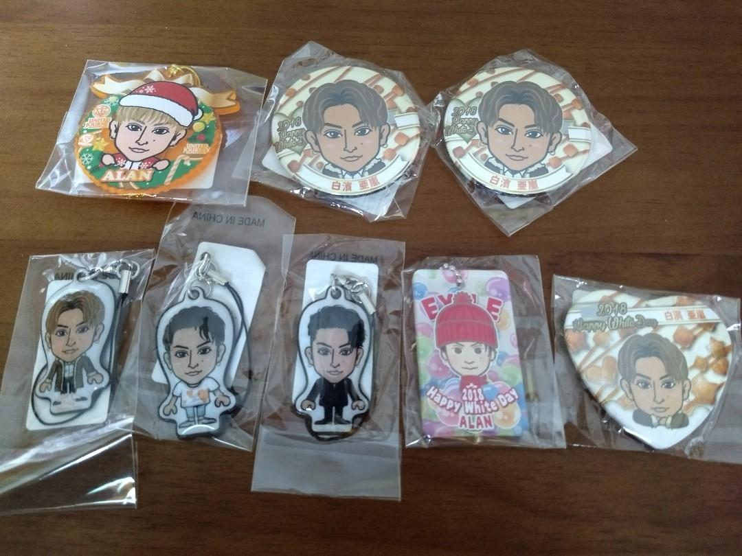 Generations from Exile Tribe gatcha 白濱亞嵐 set