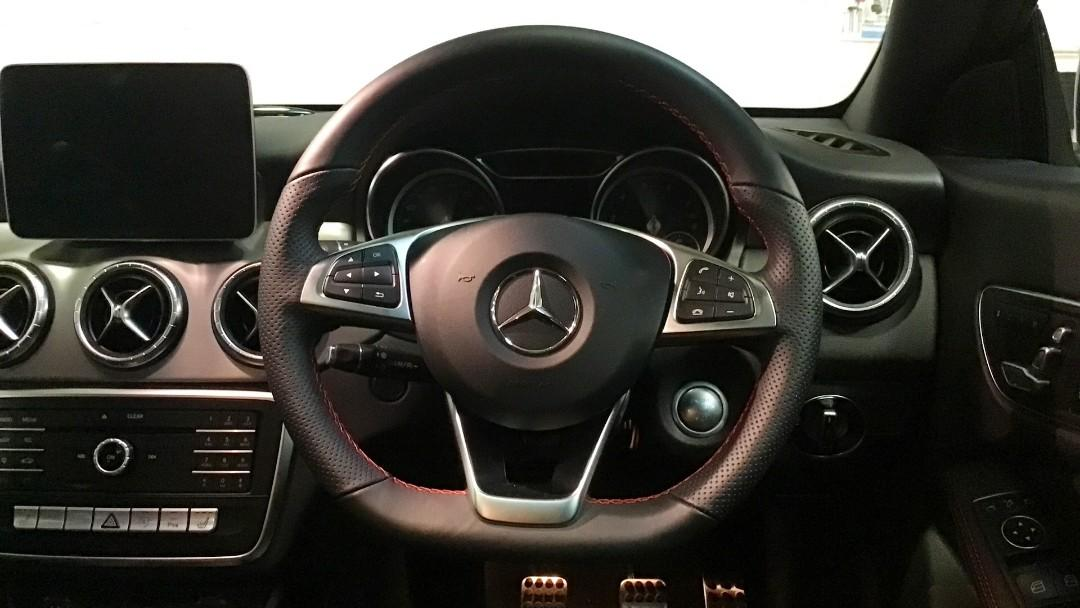 Mercedes CLA200 facelift for rent / kereta sewa / 出租车🚕