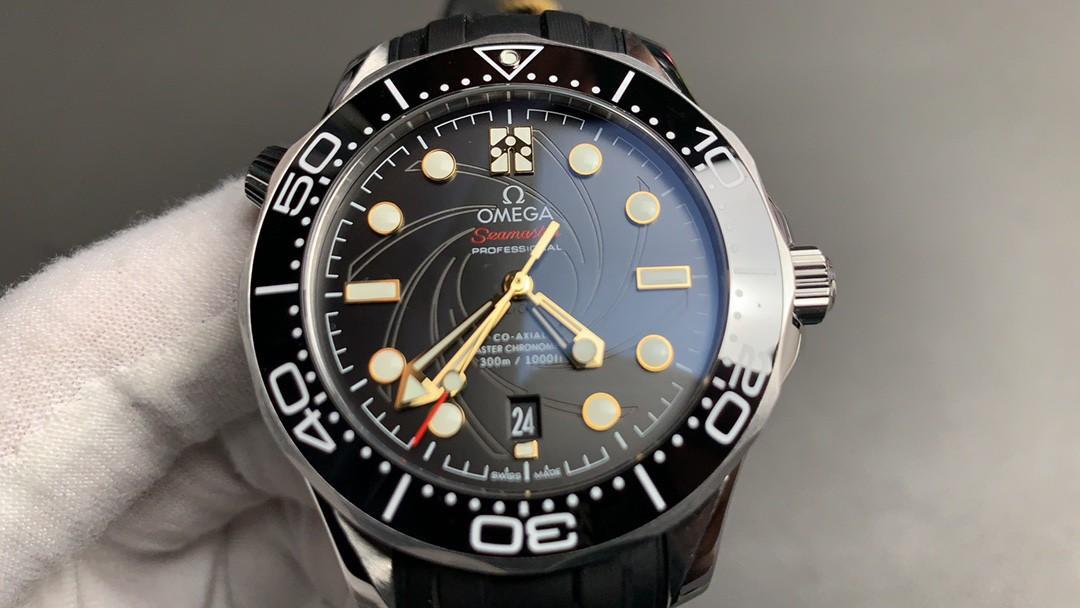 (NEW) VS Factory Omega Seamaster Diver 300M James Bond 007 210.22.42.20.01.004 SS Black Dial 8800