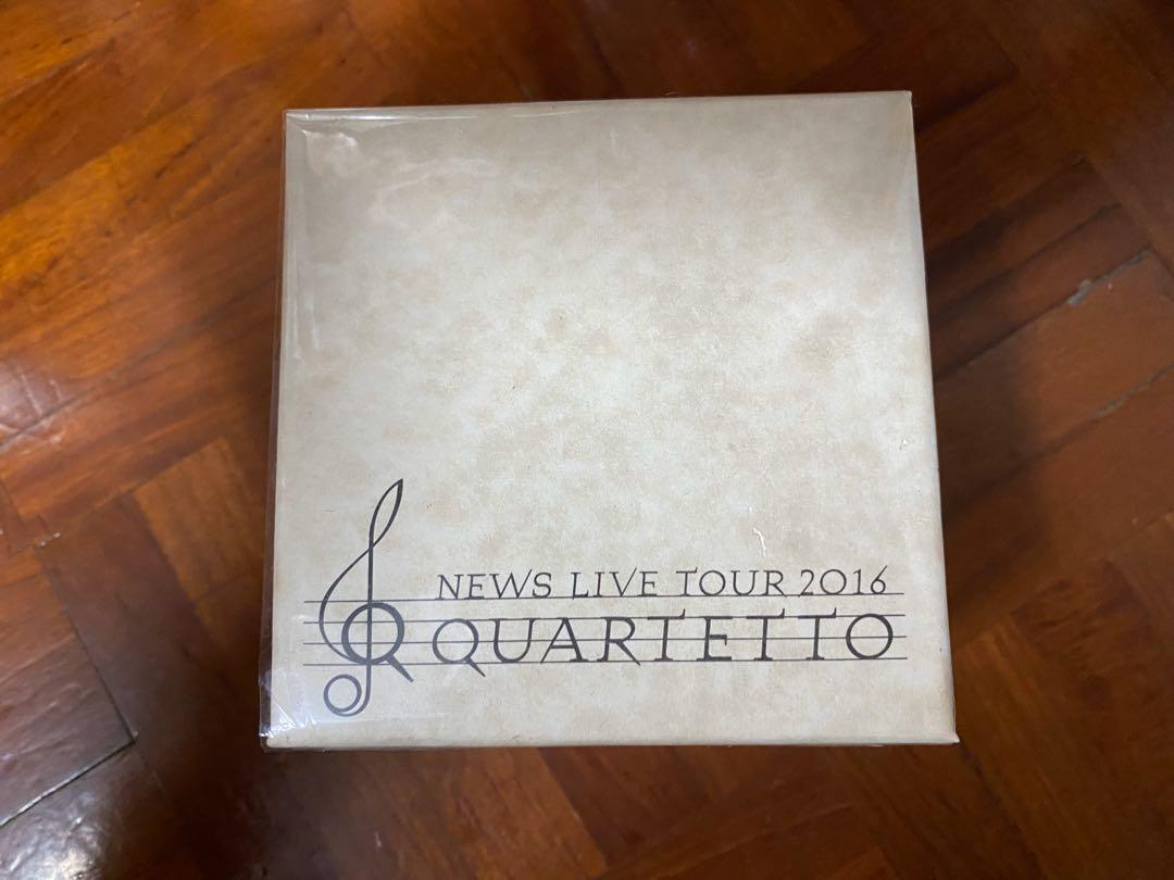 NEWS LIVE TOUR 2016 QUARTETTN 音樂盒