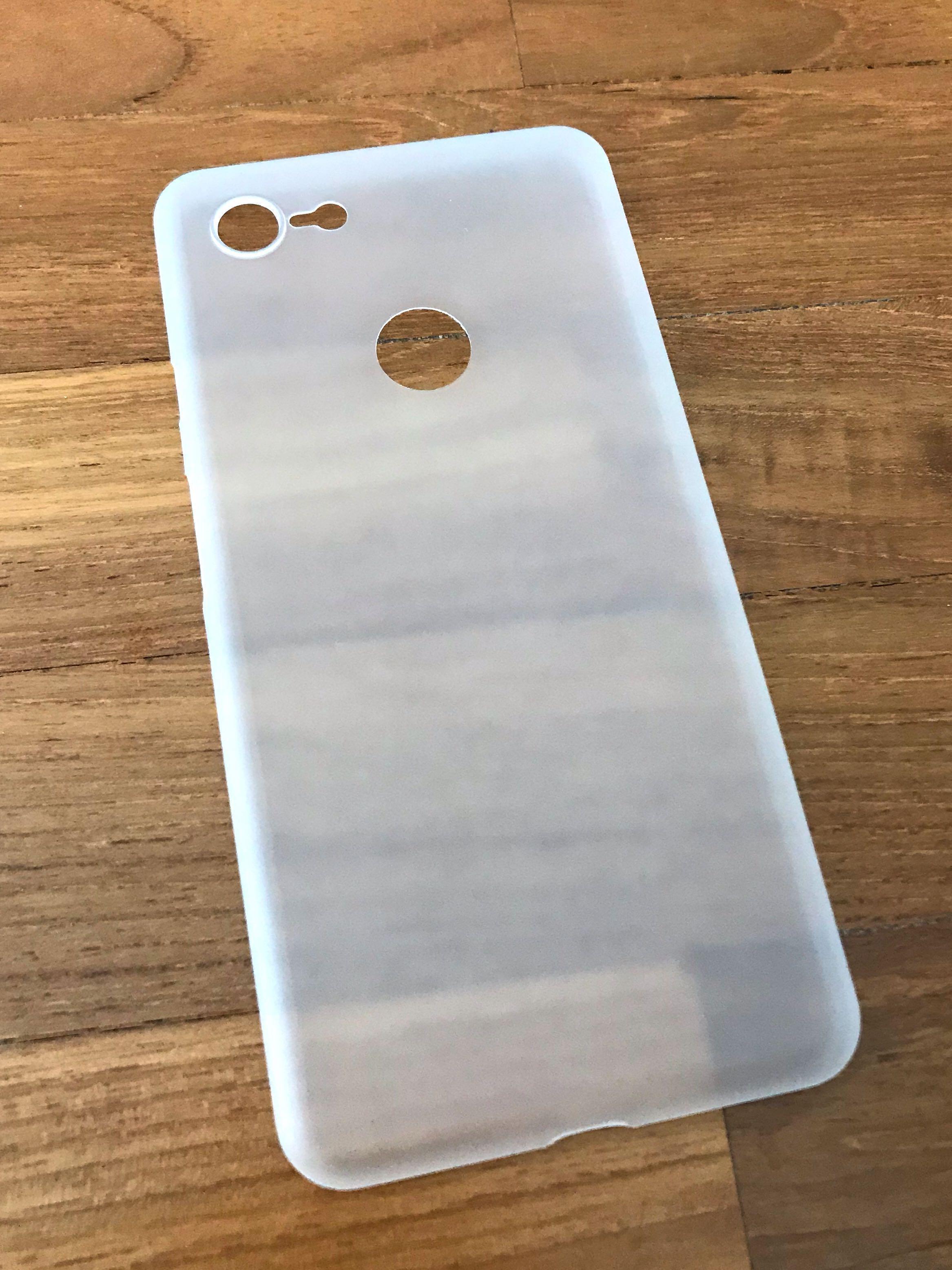 PO Google Pixel 2 3 3a 4 XL Ultra Thin Hard Sleeve Case