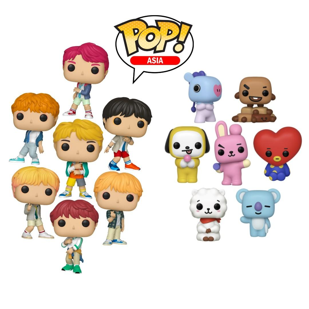 [PREORDER] Funko Pop! x BTS/BT21 Figures Shopping Service (TBA)