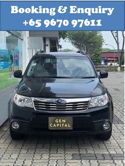 Subaru Forester 2.0A @ Very AFFORDABLE rates!! Only $500 deposit driveaway!