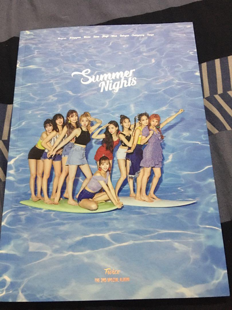 Twice Album  Summer Night 、 What is Love 、What is Love Monograph、Summer Night Monograph
