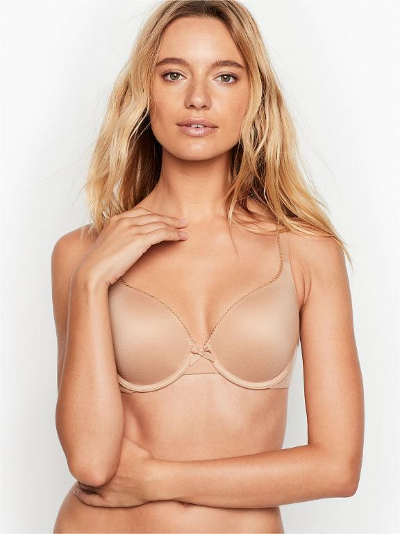 Victoria's Secret Body By Victoria Perfect Shape Nude Bra 32DD