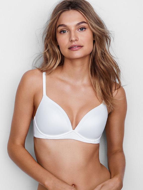 Victoria's Secret Body By Victoria Wireless Bra White 32DD