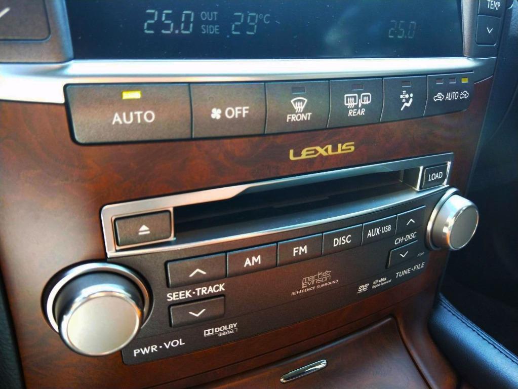 10式 Lexus LS460 4.6升 短軸運動版 一手車 全車原鈑件 里程跑少