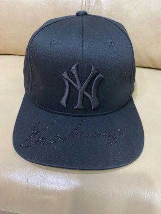 MLB 黑閃石cap帽