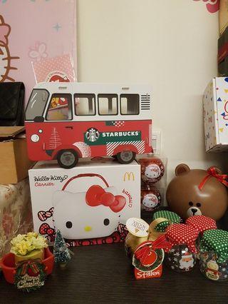 星巴克 聖誕雙面車禮盒