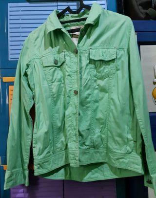 Jaket Triset hijau