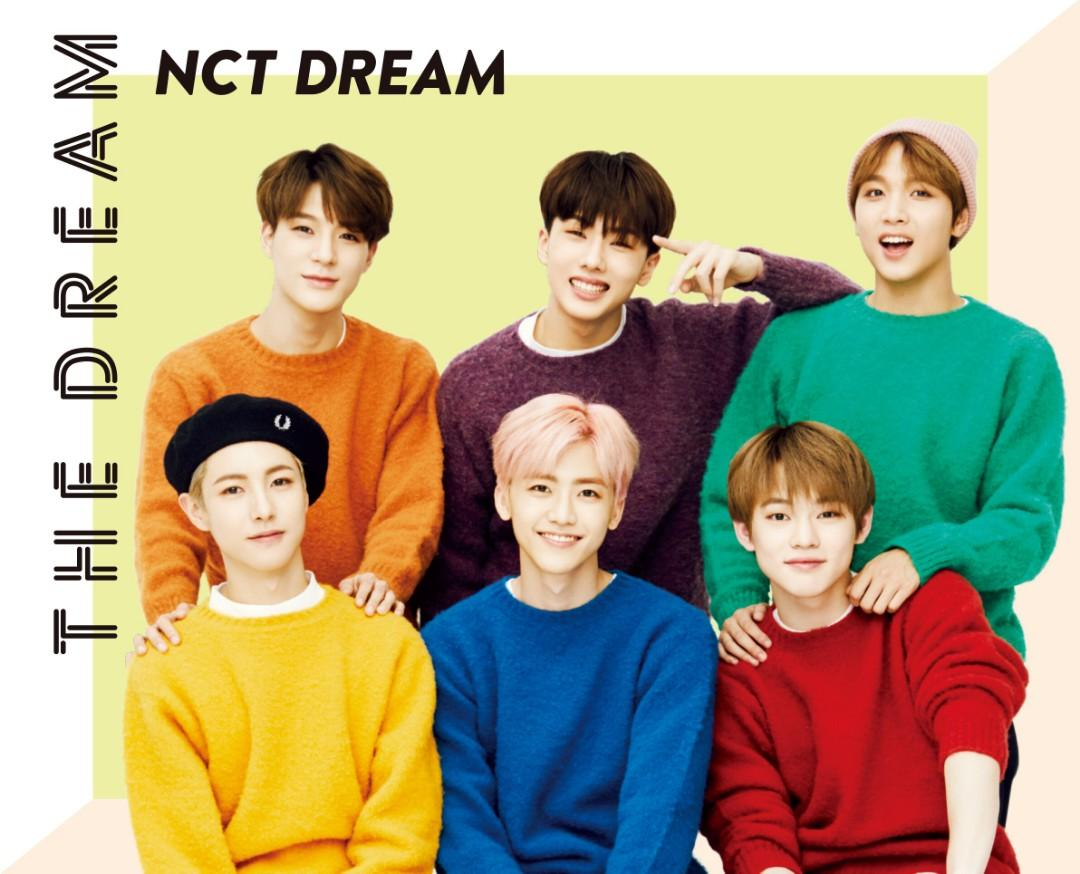 [ MY GO🇲🇾] NCT DREAM< THE DREAM> ALBUM PREODER [first press limited edition]