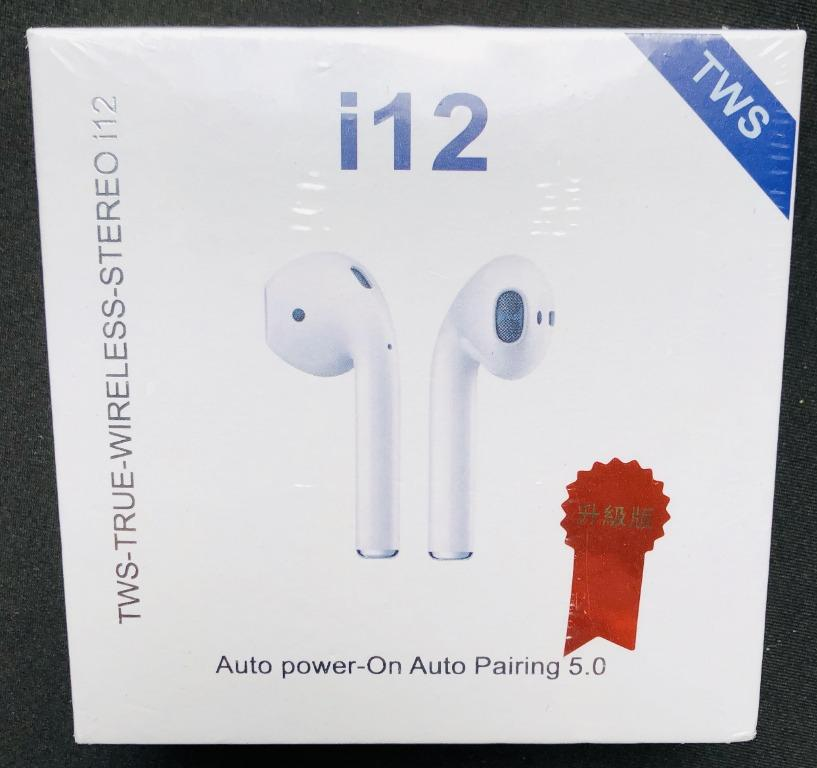 OUT OF STOCK!! i12 TWS New 2019 Version Upgraded Model Wireless Bluetooth Airpods