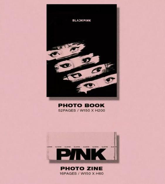 BLACKPINK (KILL THIS LOVE) PINK VERSION-KPOP SEALED CD ALBUM WITH FULL CONTENTS