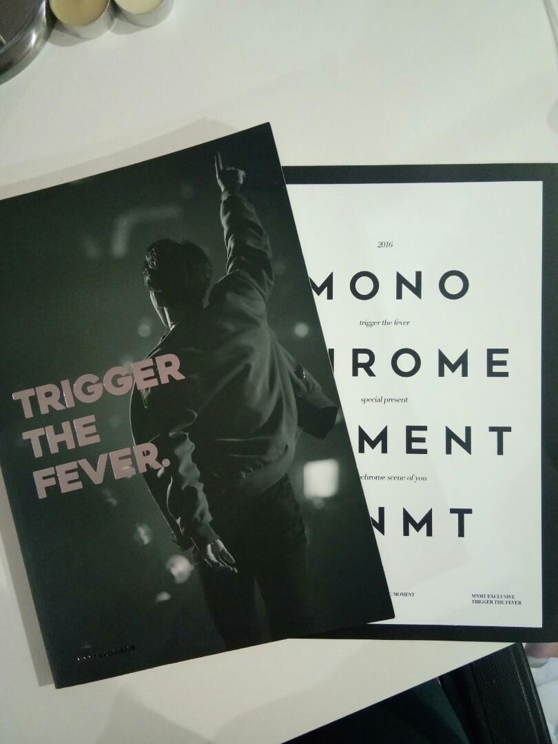 BTS JIMIN Photobook, Trigger The Fever by miningfulmoment