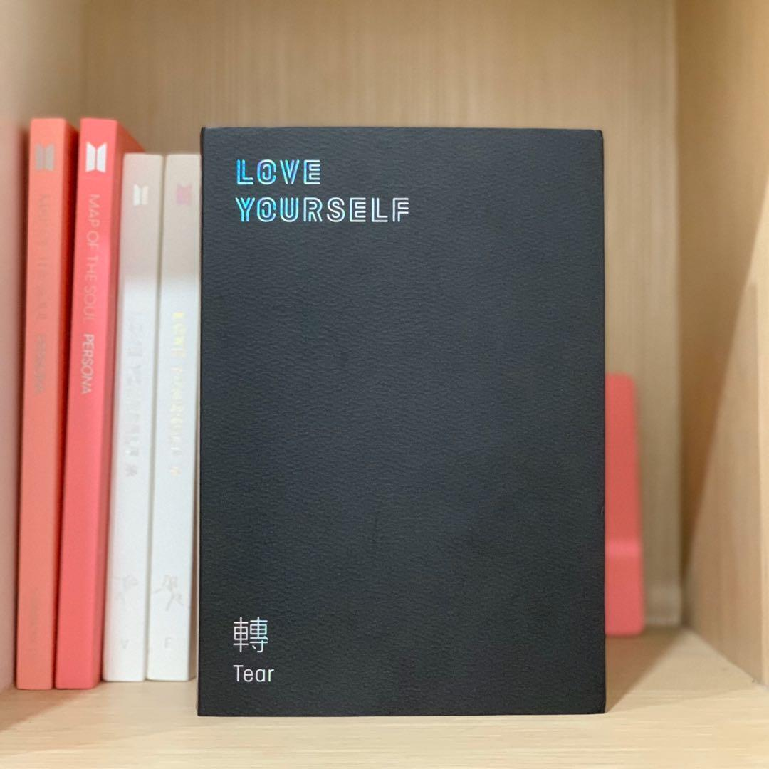 BTS Love Yourself Her, Tear Albums and MOTS Map of The Soul Albums