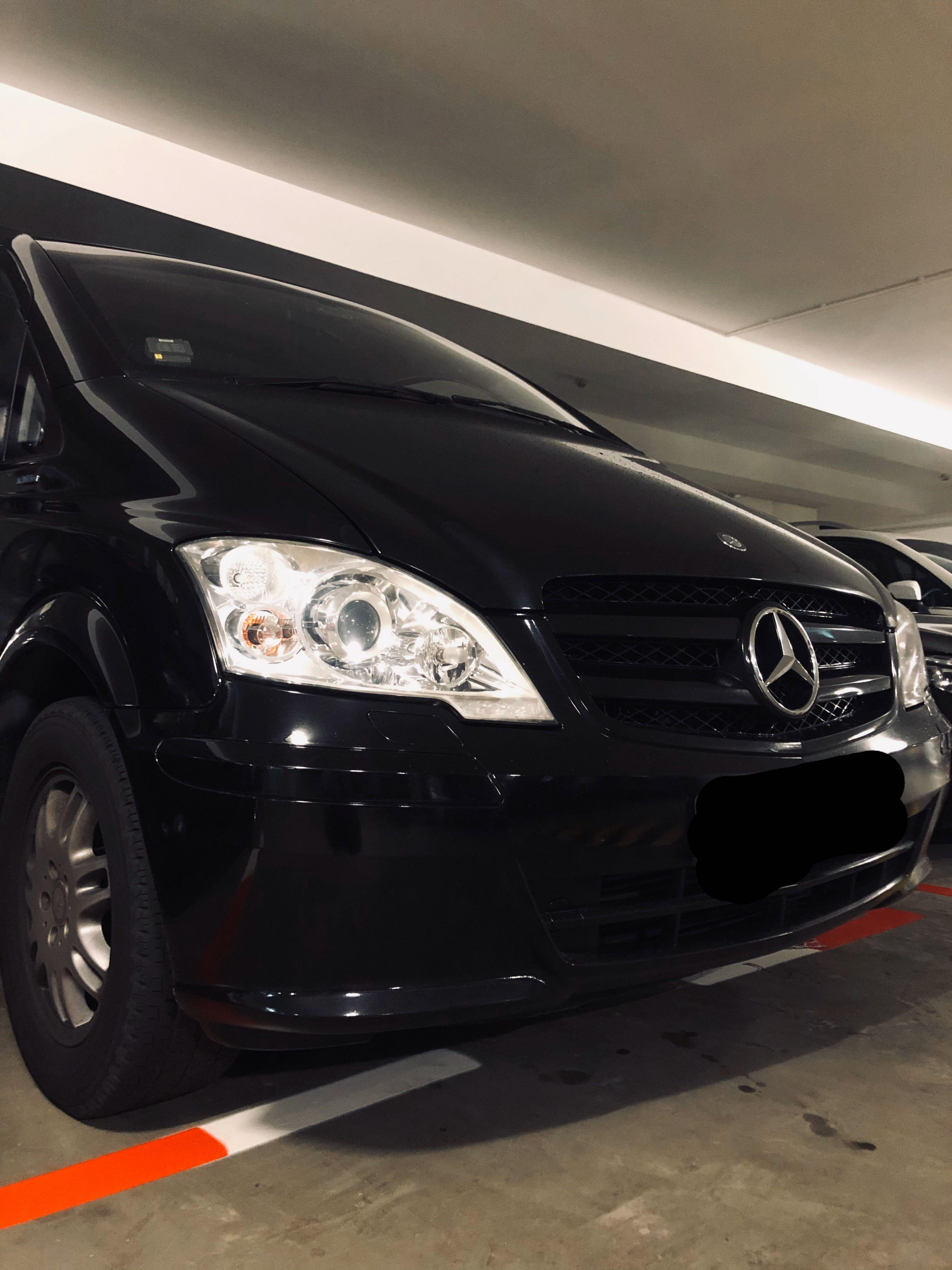 CHEAP HOURLY MERCEDES VAN RENTAL with DRIVER!!