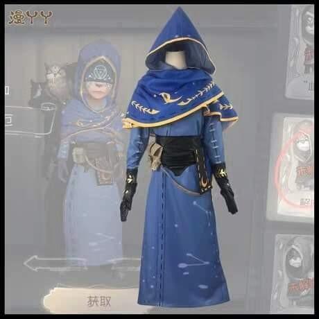 👁ELI CLARK THE SEER IDENTITY V GAME COSPLAY COSTUME MEN FASHION👁