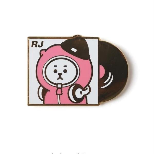 (PO/GO) Official BTS BT21 Metal Badge (Music Ver.)