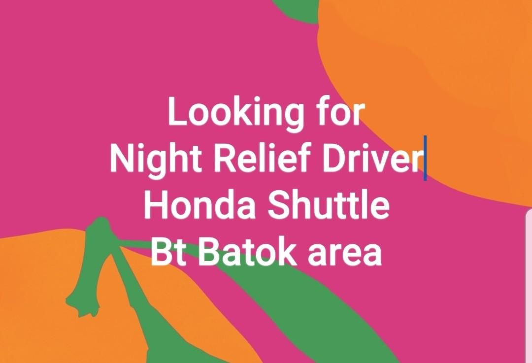 Grab, Gojek Relief Driver PDVL