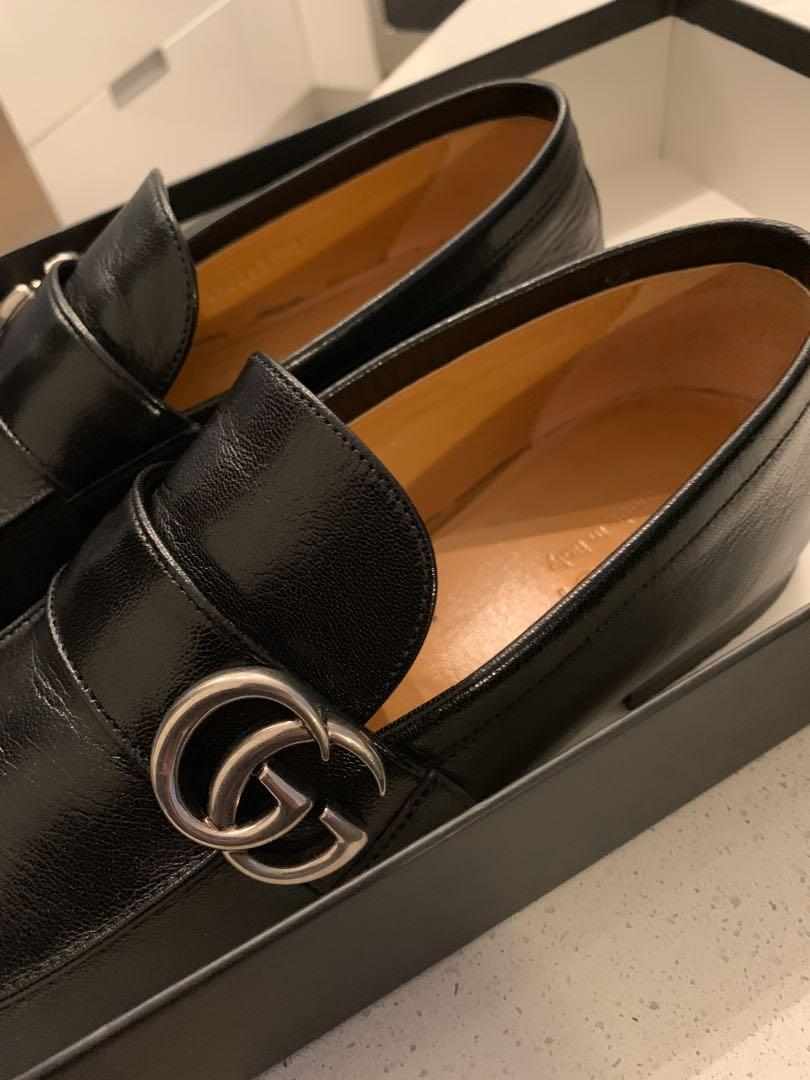 Gucci loafers euro size 7 fits 9.5 men's Mint condition 100% authentic