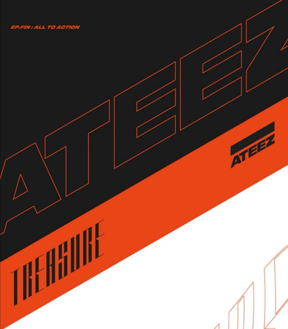 [Last call] ATEEZ - TREASURE EP.FIN : ALL TO ACTION Special LIMITED EDITION