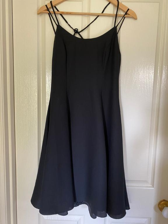 Little Black Dress (80s/90s style) - PACO brand (size 8)