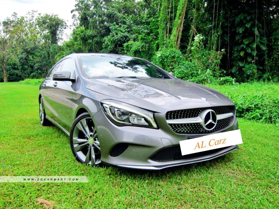 Mercedes-Benz CLA180 Shooting Brake (A)
