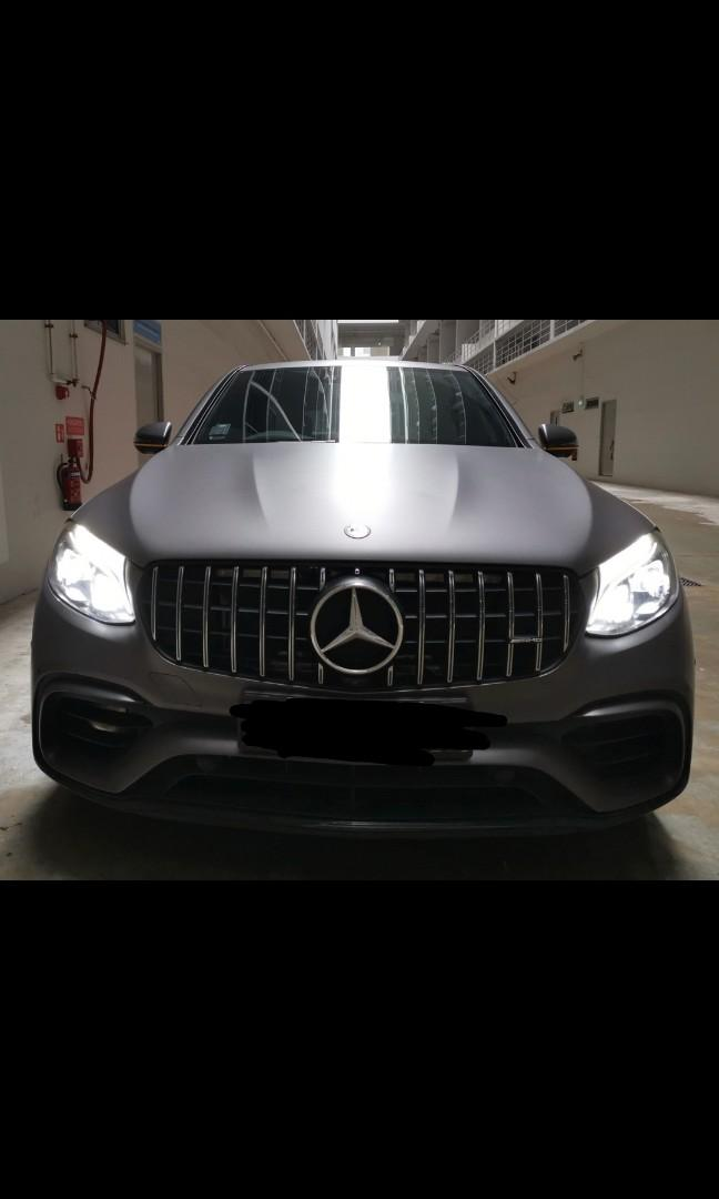 Mercedes-Benz GLC 43 AMG Coupe 4Matic (A)
