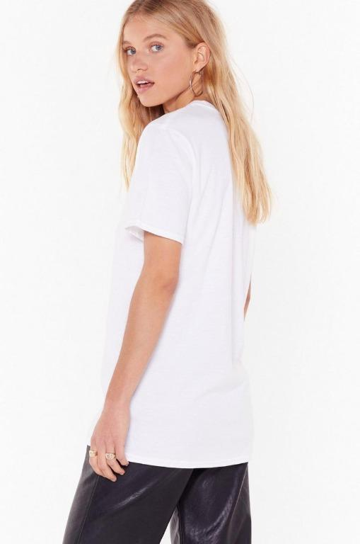 Nasty Gal Tell Me Your Star Sign Virgo Graphic Tee