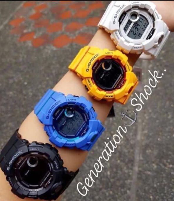 NEW🌟BLUETOOTH BUMBLEBEE🐝theme : GSHOCK UNISEX DIVER SPORTS WATCH : 100% ORIGINAL AUTHENTIC CASIO G-SHOCK : GBD-800-4DR / GBD-800-4 / GBD-800UC-4  (MANGO-YELLOW)