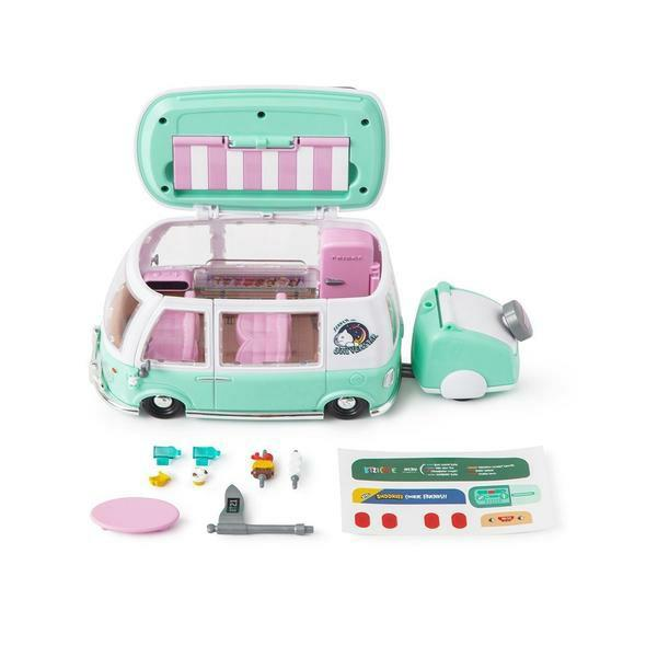 (PO) Official BTS BT21 Collectible Playset Camping Car