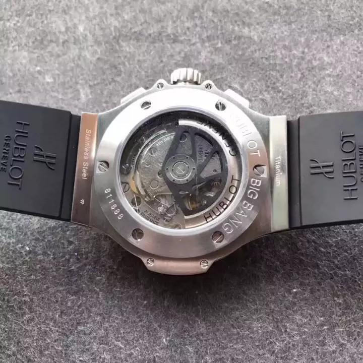 💥FREEGIFT SNEAKERS💥[PRE-ORDER] _BlG_Bang_ Black Evolution Chronograph HUB.4100.Swiss.Engine