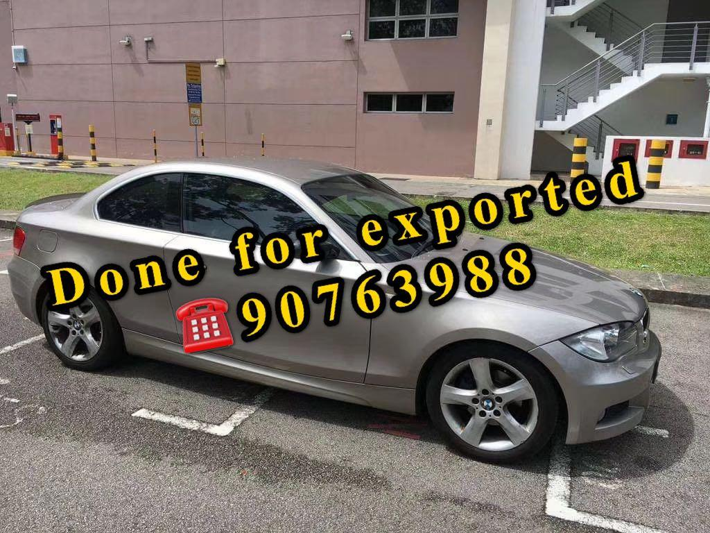 SCRAP / EXPORT YOUR CAR AT THE HIGHEST PRICE IN SINGAPORE