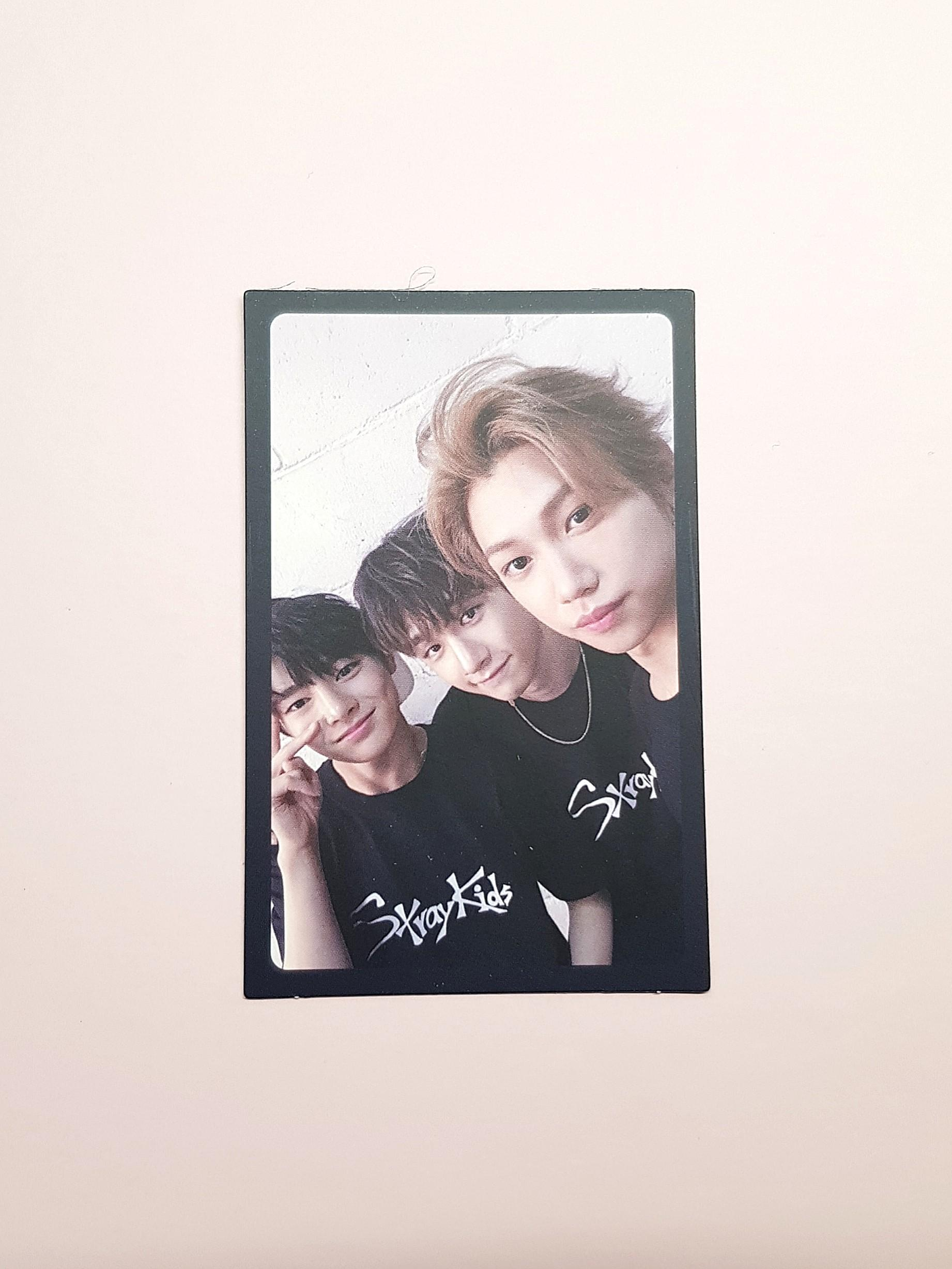 STRAY KIDS I AM NOT Unit Photocard [I.N, FELIX, CHAN]