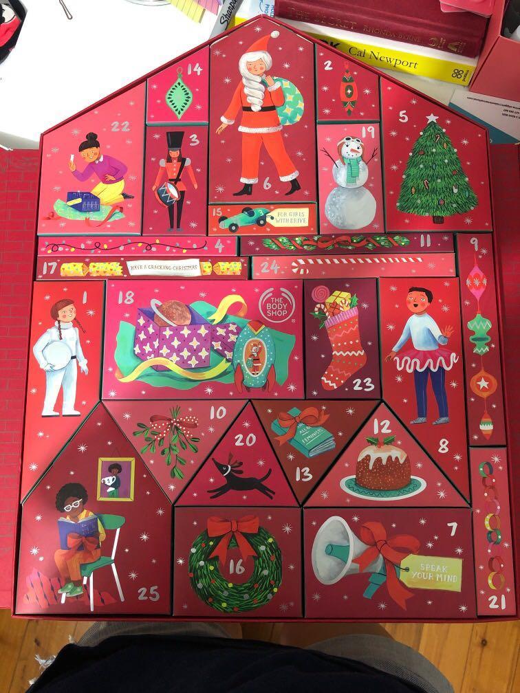 The Body Shop Dream Big This Christmas Deluxe Advent Calendar