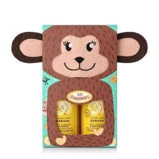 The Body Shop Go Bananas Shampoo & Conditioner Set