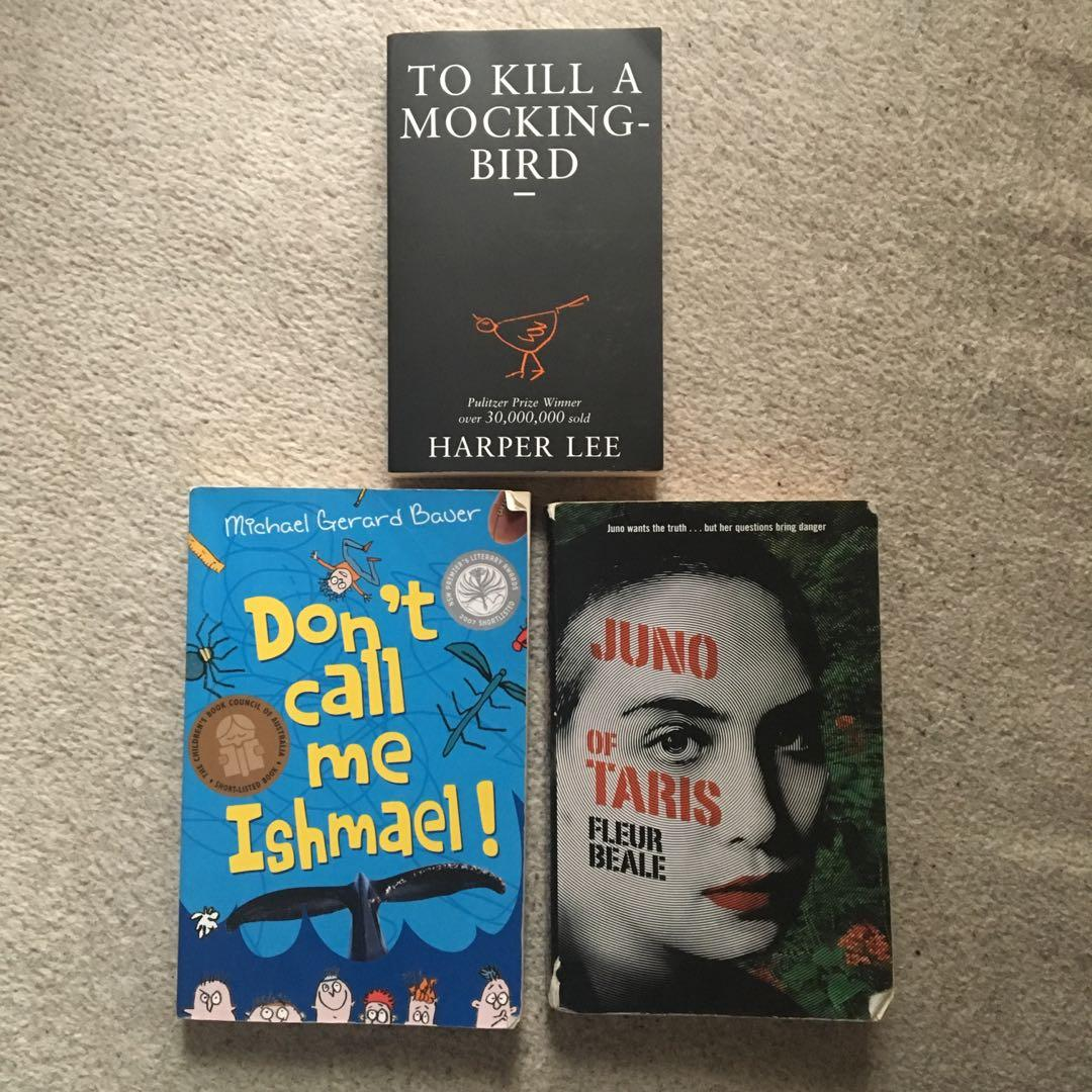 To Kill A Mockingbird, Don't Call Me Ishmael!, Juno of Taris (VCE ENGLISH BOOKS)