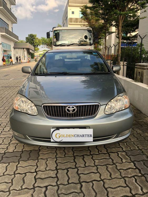 Toyota Altis For Ready For Rent Now! Gojek , Grab ,Personal Use