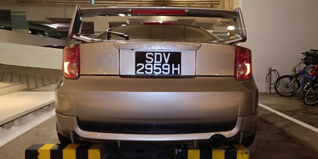 Toyota celica 1.8 zzt230.  1zz Manual