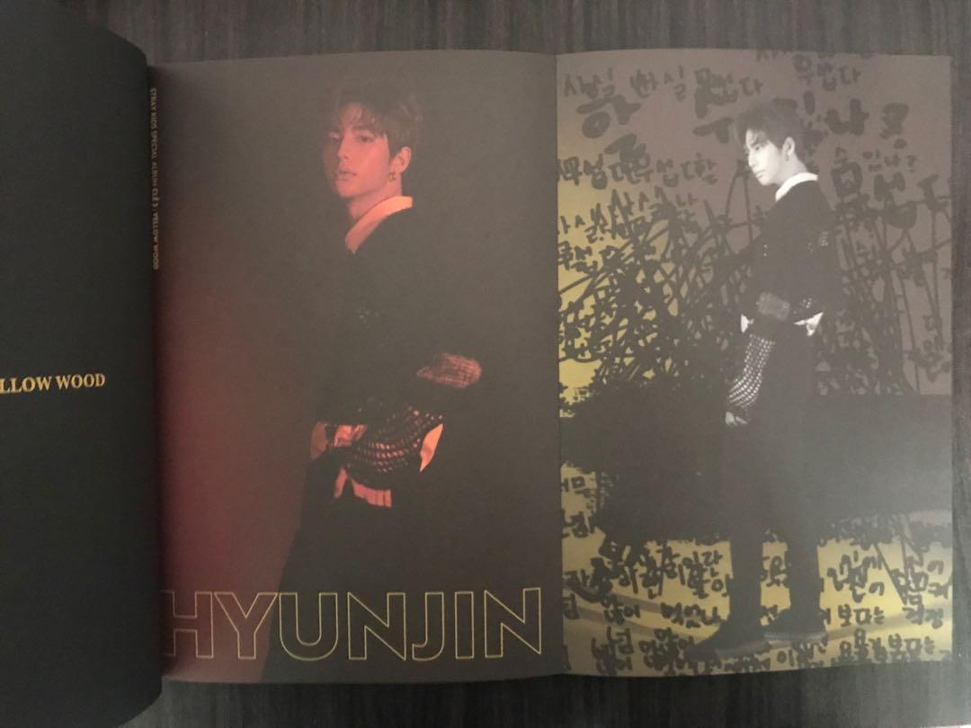 [WTS] Stray Kids Yellow Wood Limited Edition Ver Album Hyunjin Page