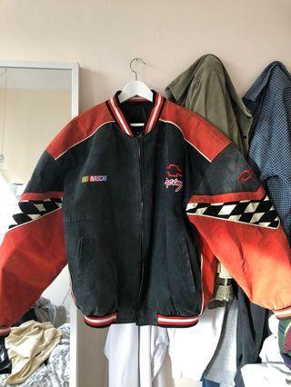 Vintage Chevy racer jacket