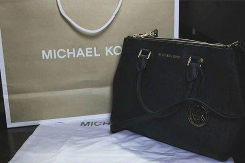 Michael Kors Savannah Saffiano Leather Satchel