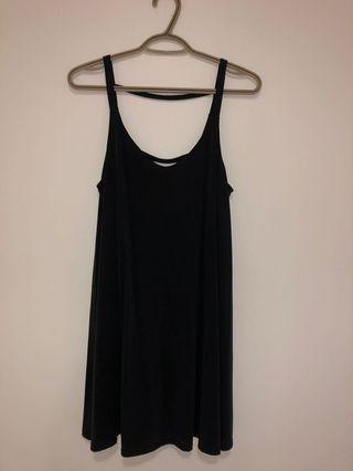 Loose flowy dress with ladder back