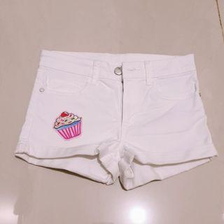 White Shorts pants anak HnM size 6 - 7 thn